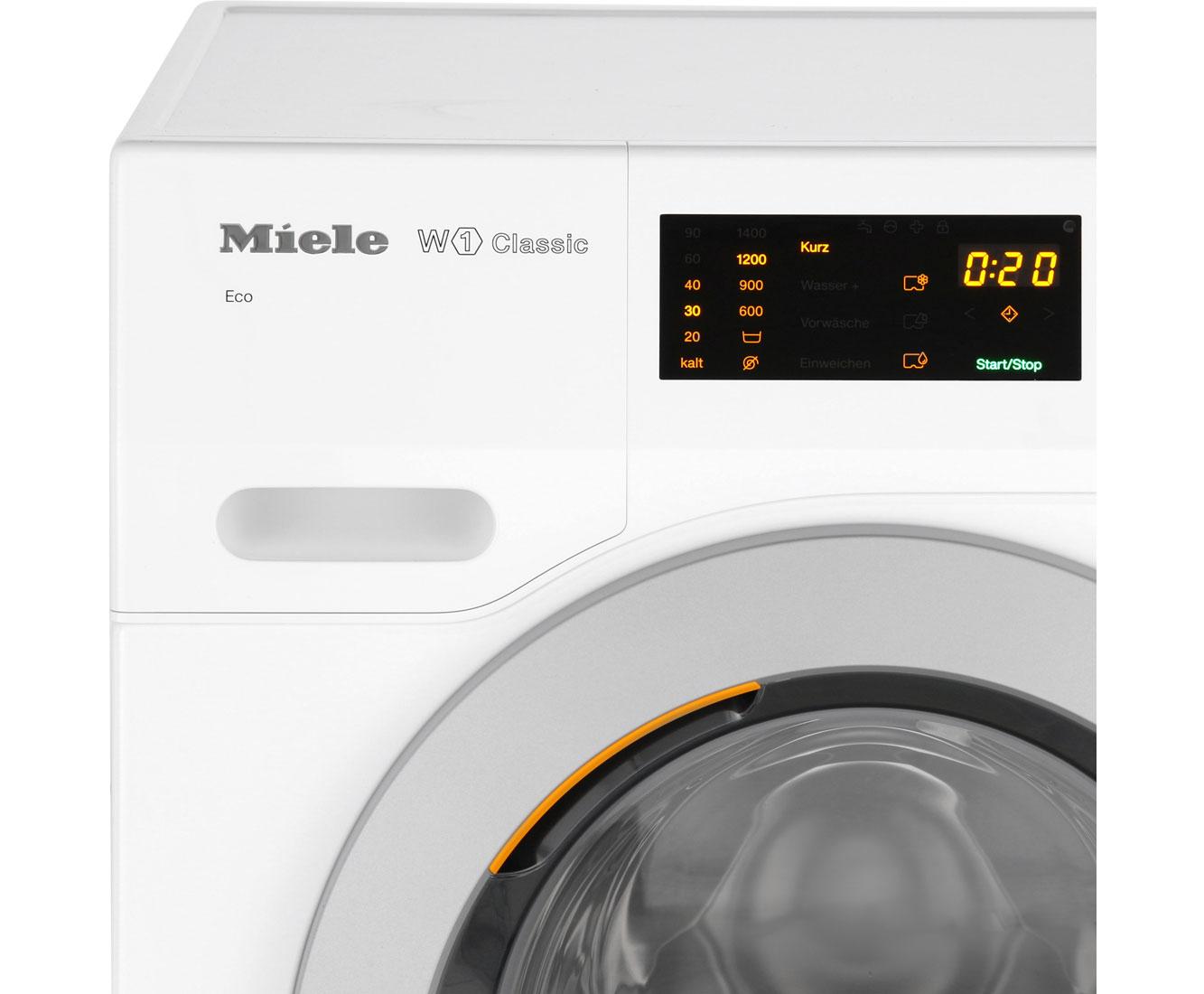 Miele WDB030 WPS Eco Waschmaschine - Weiß, 7 kg, 1400 U/Min, A+++