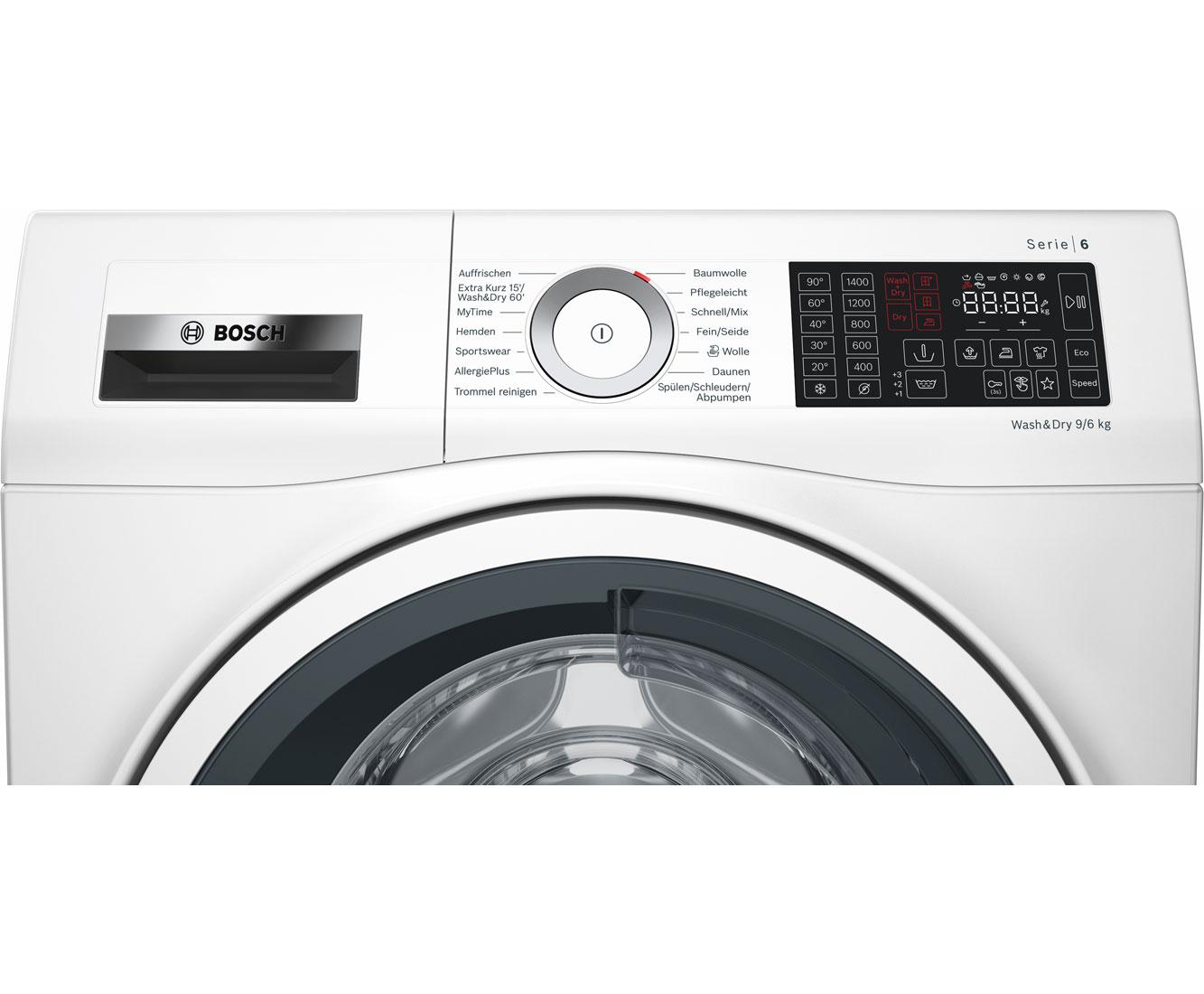 Bosch wdu28540 waschtrockner freistehend weiss neu ebay