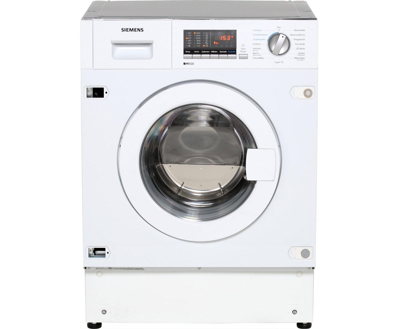 einbau waschmaschine mit trockner
