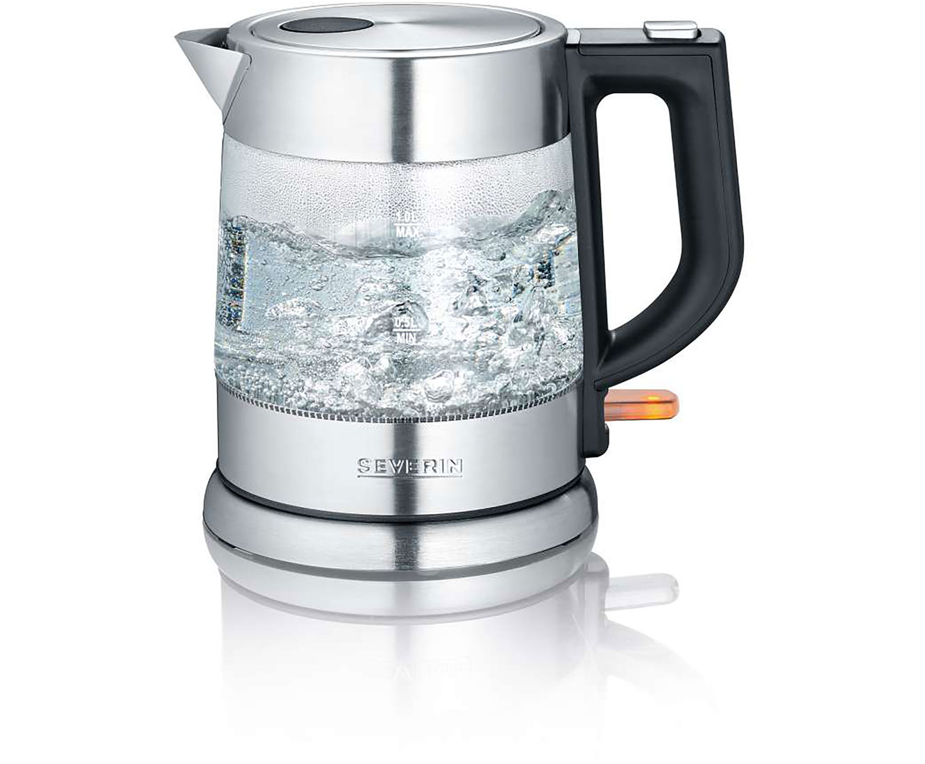 Severin WK 3468 Wasserkocher & Toaster - Edelstahl   Küche und Esszimmer > Küchengeräte > Toaster   Edelstahl   Severin