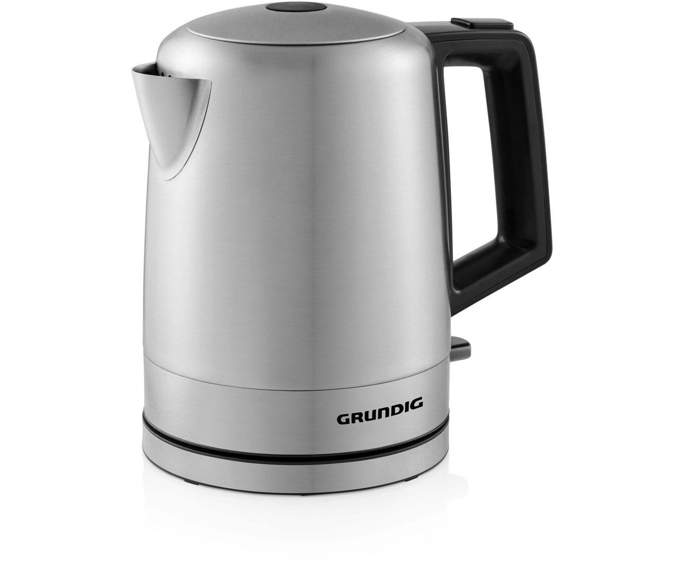 Grundig WK 4640 Wasserkocher & Toaster - Edelstahl