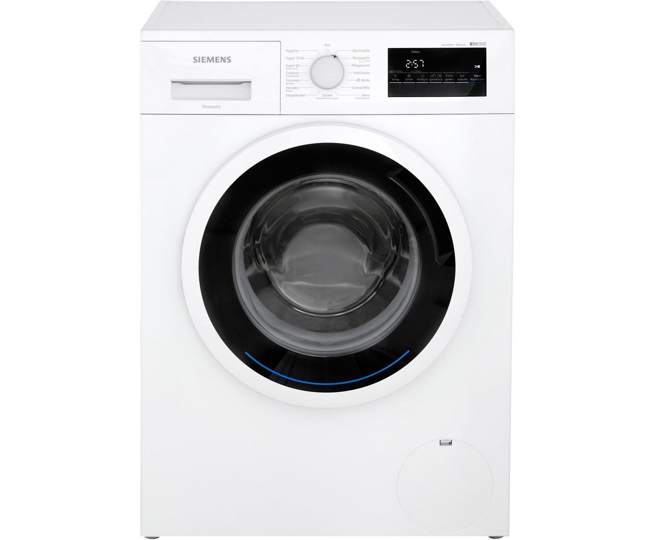 Siemens iq wm n waschmaschine kg u min a