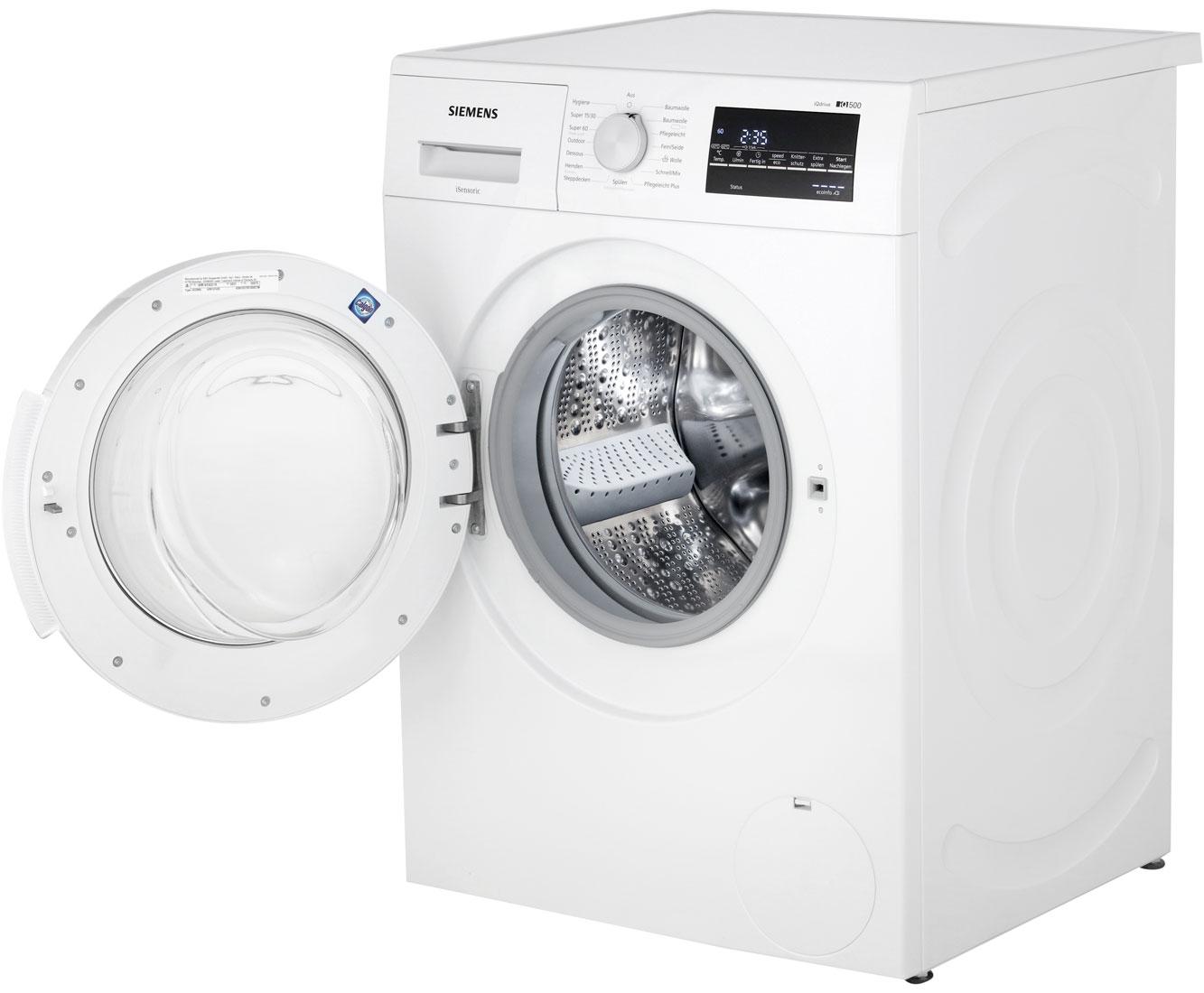 siemens wm14t420 iq500 waschmaschine freistehend weiss neu ebay. Black Bedroom Furniture Sets. Home Design Ideas