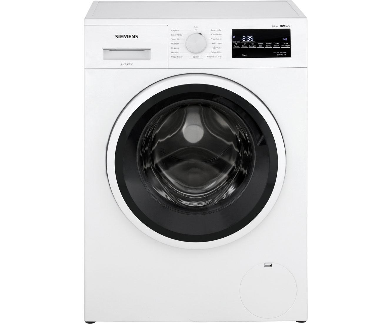 Siemens iq500 wm14t421 waschmaschine 7 kg 1400 u min a