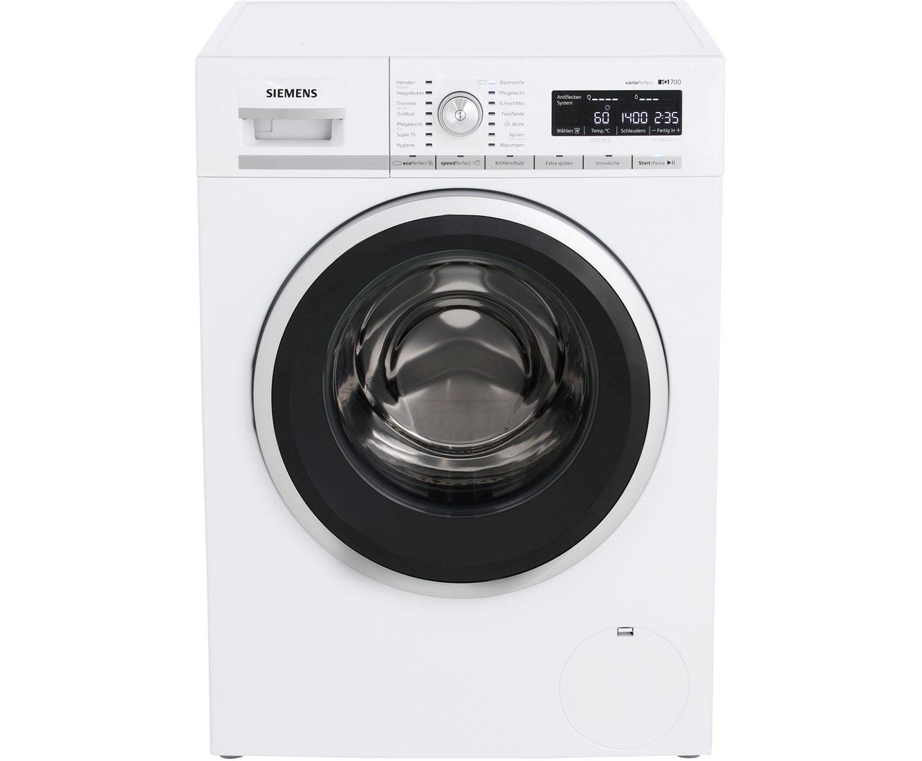 Siemens iq700 wm14w540 waschmaschine 8 kg 1400 u min a