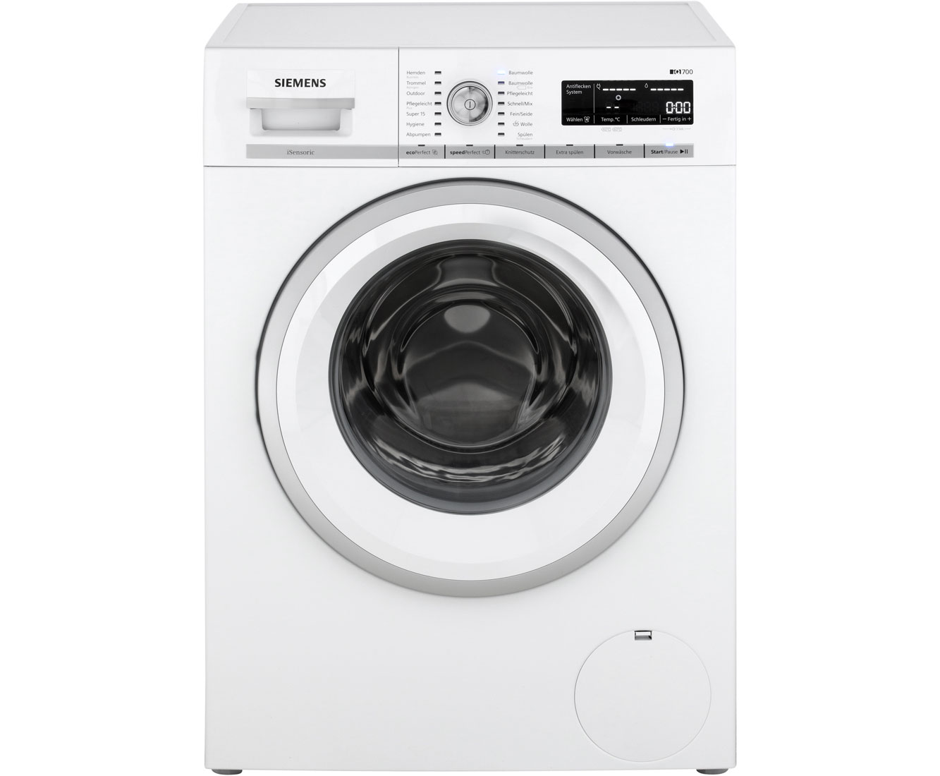 Siemens iq wm w waschmaschine kg u min a