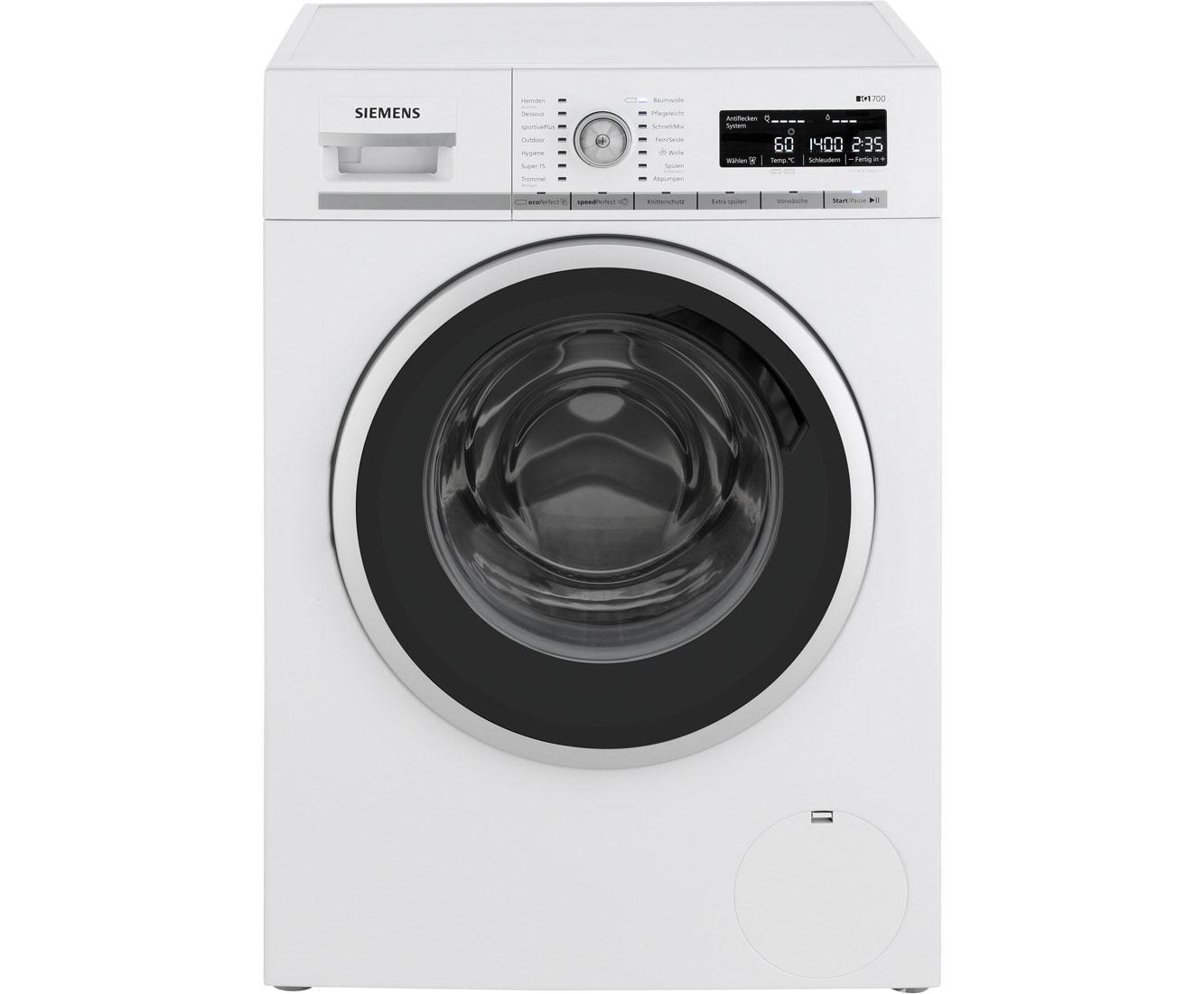 Siemens wm14w5a1 waschmaschine 8 kg 1400 u min a