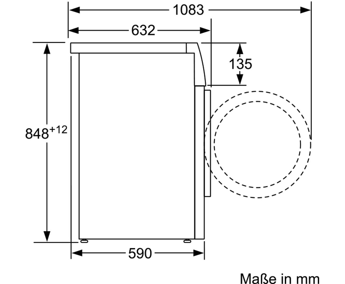 Häufig Siemens iQ700 WM14W740 Waschmaschine mit sensoFresh, - Weiß, 8 kg IP69