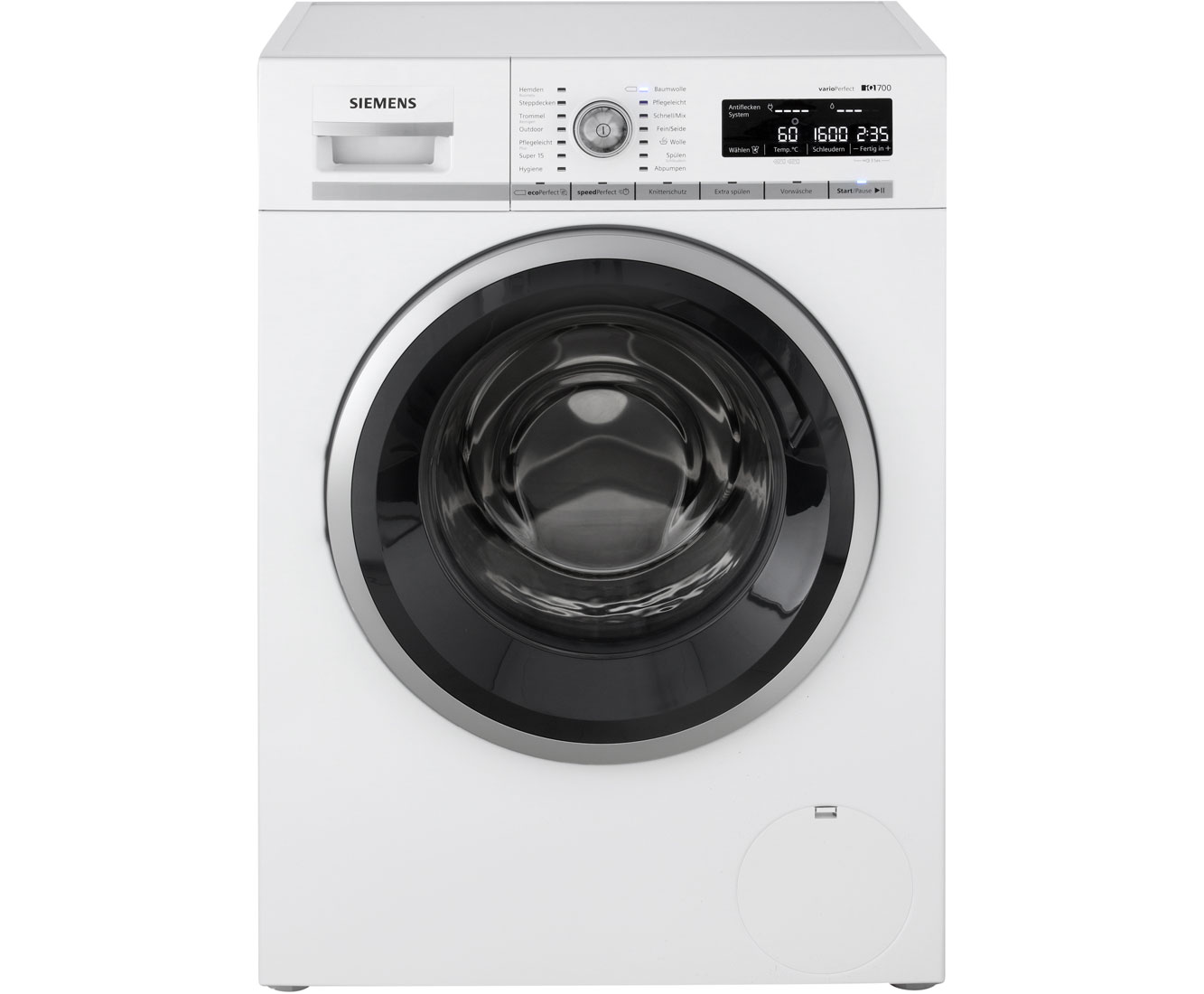 Siemens Iq700 Wm16w540 Waschmaschine Weiss 8 Kg 1600 U Min A