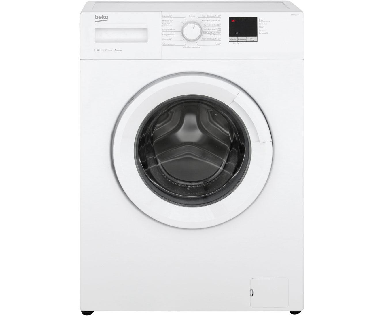 beko wml 61223 n waschmaschine freistehend wei 223 neu ebay