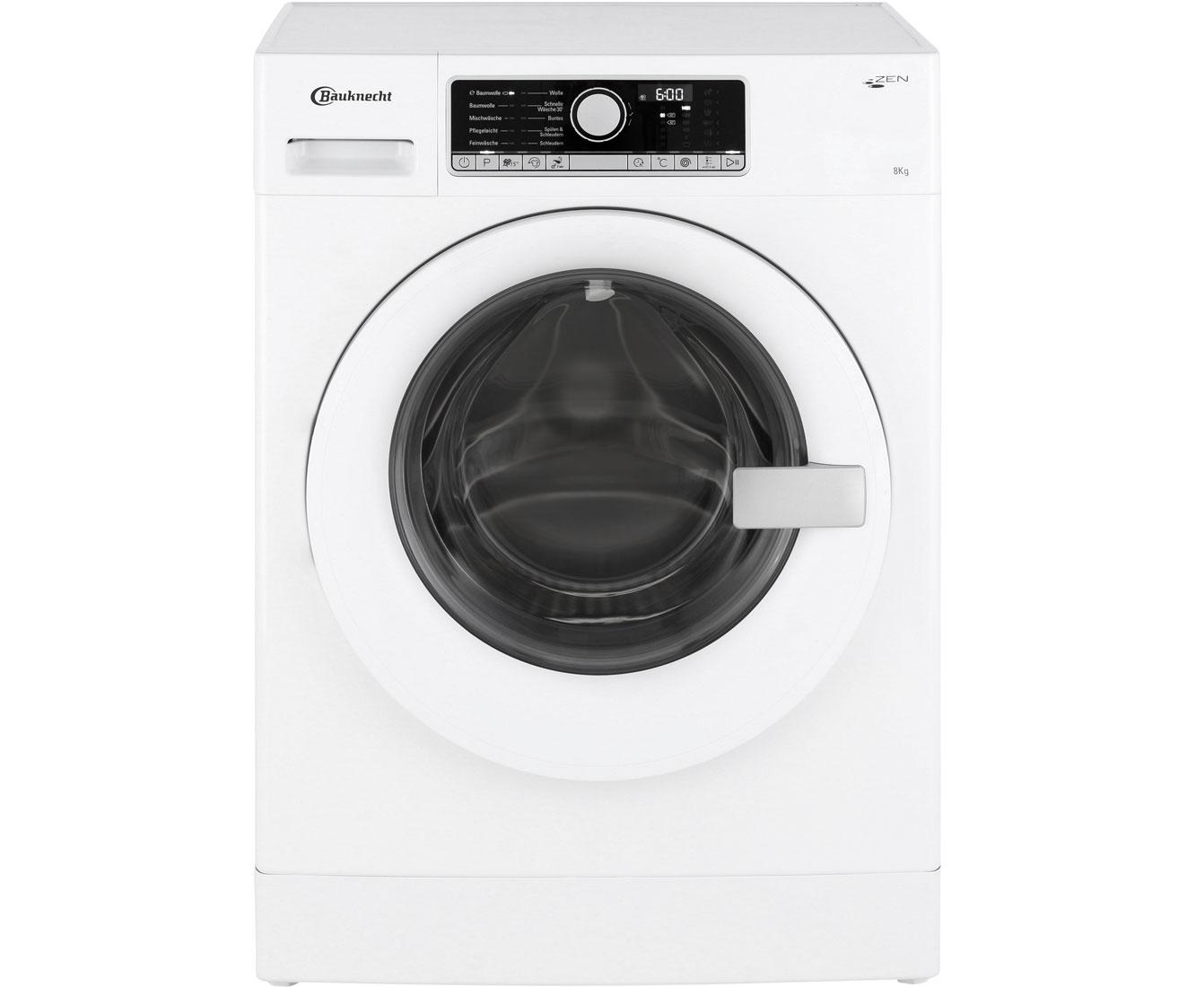 Bauknecht wm move 814 zen waschmaschine 8 kg 1400 u min a