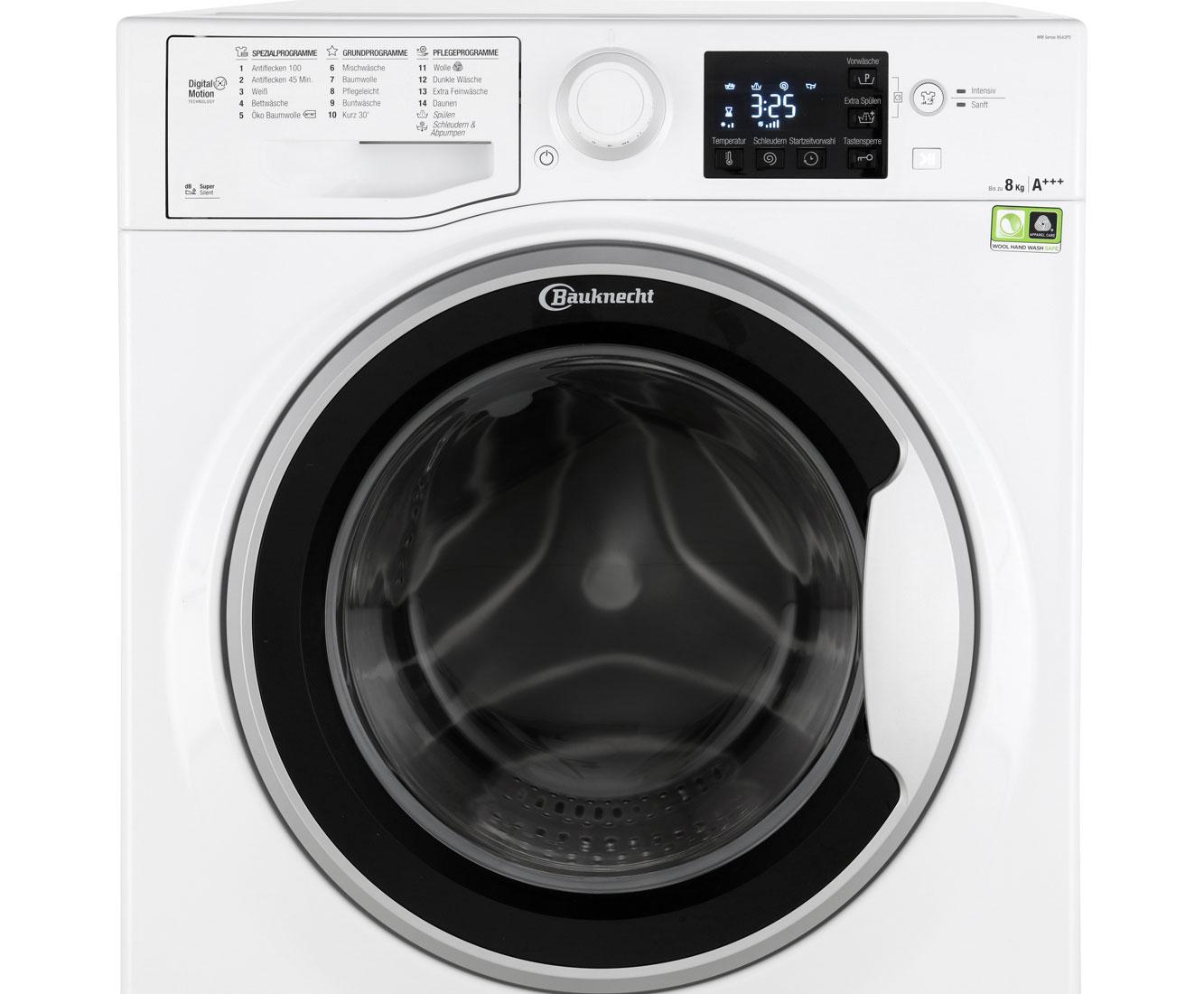 Bauknecht WM Sense 8G42PS Waschmaschine, A+++   GALERIA