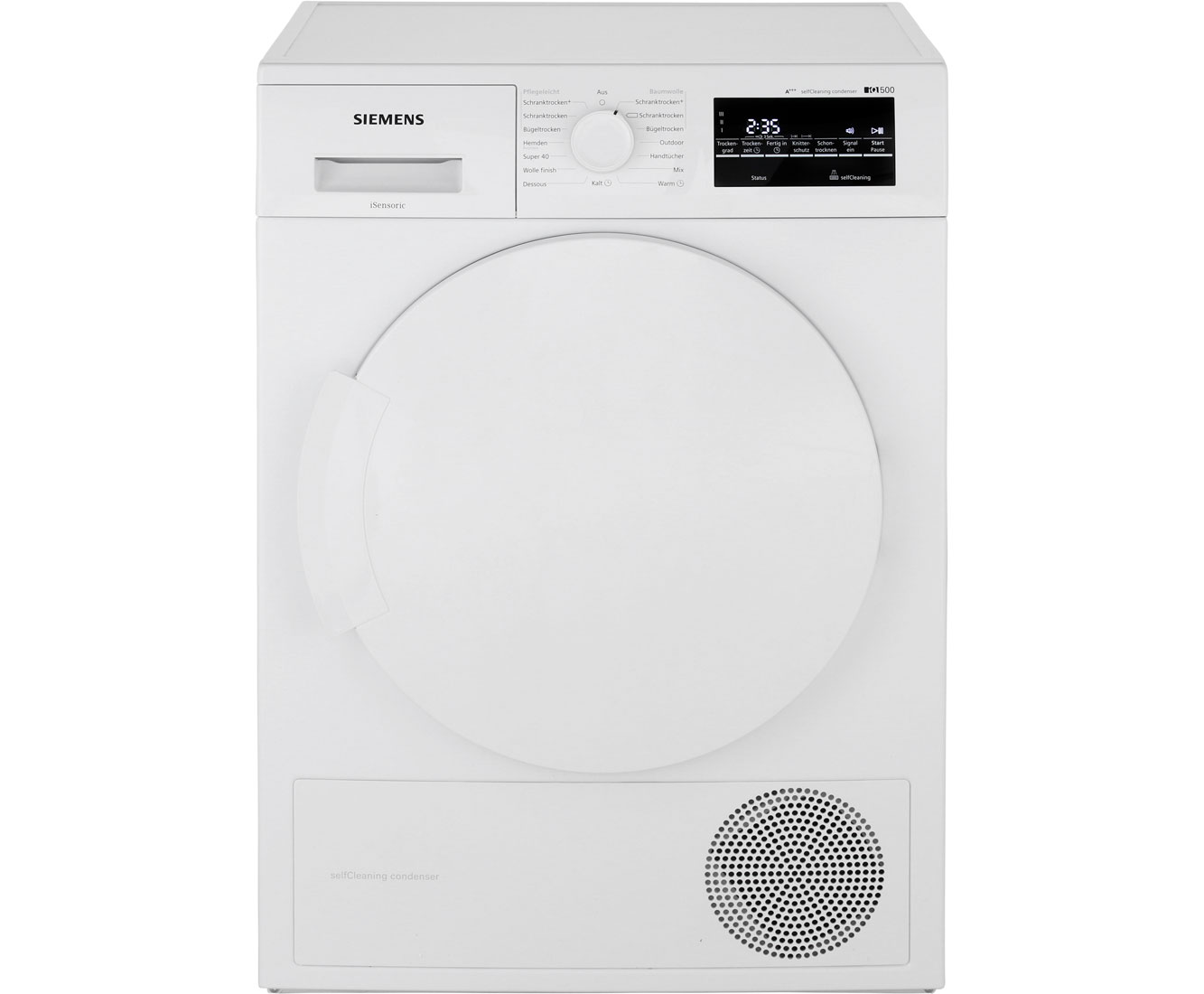 Siemens iQ500 WT45W463 Wärmepumpentrockner - Weiss | Bad > Waschmaschinen und Trockner | Weiss | Siemens