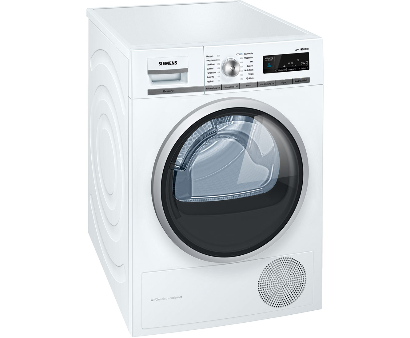 iQ700 WT47W5W0 Wärmepumpentrockner - Weiss