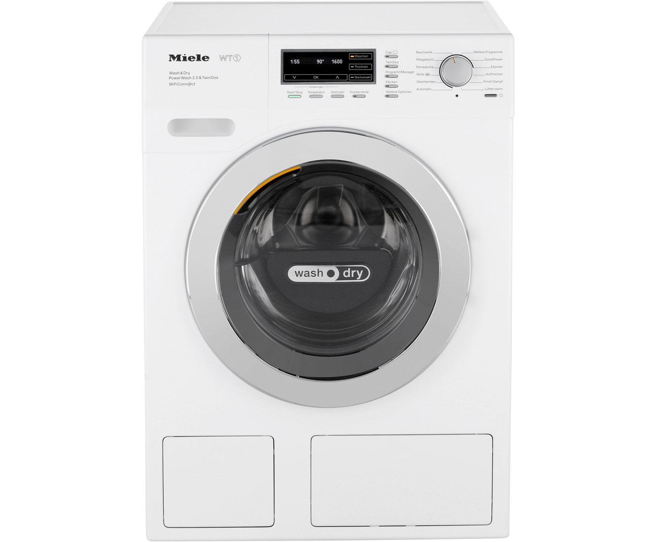 Miele wth730 wpm waschtrockner 7 kg waschen 4 kg trocknen 1600