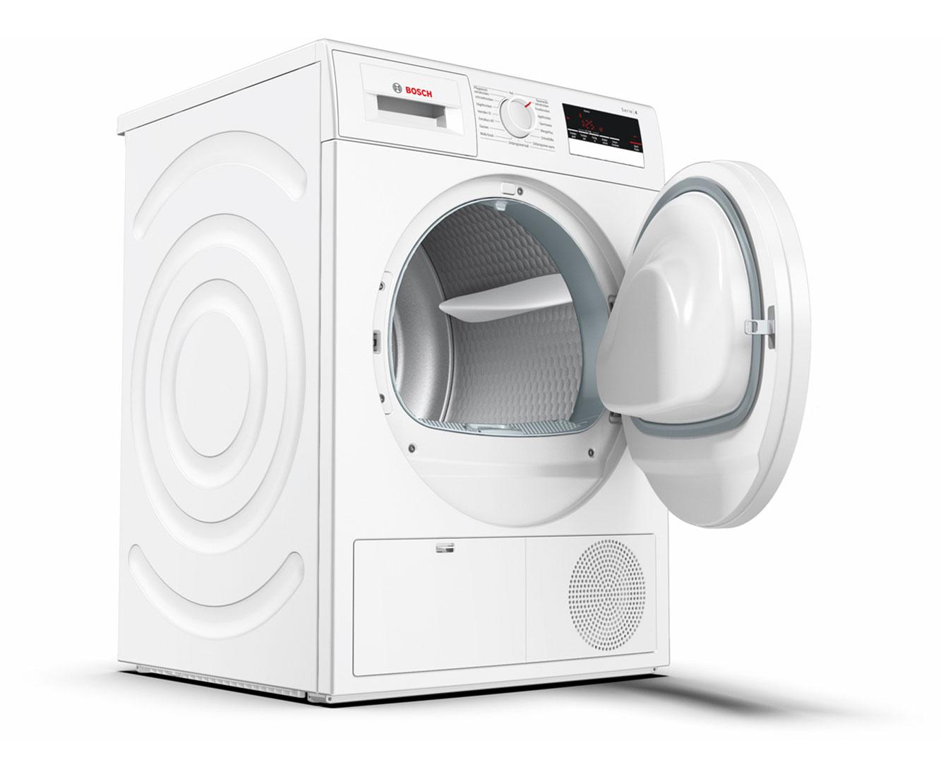 Bosch wtn kondenstrockner kg weiß