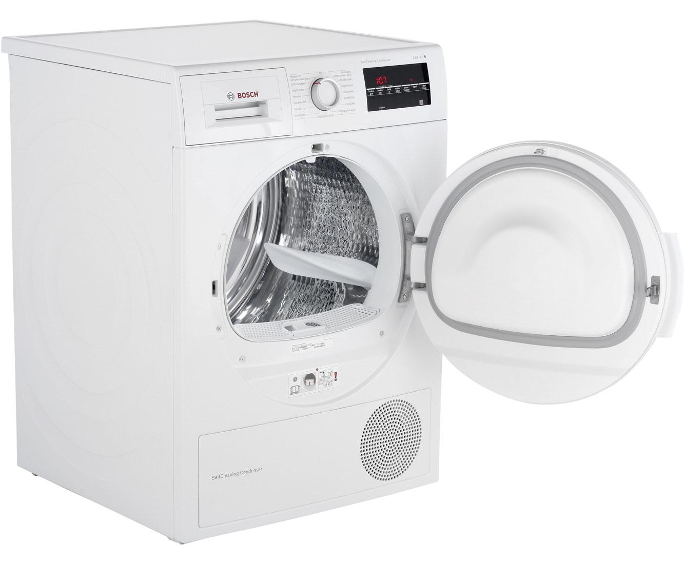 Bosch serie wtw wärmepumpentrockner kg weiß a
