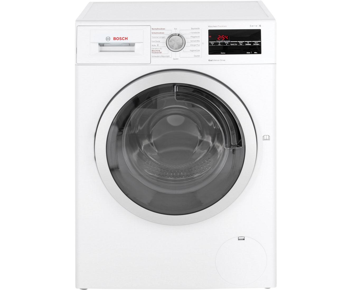 Bosch wvg30443 waschtrockner 7 kg waschen 4 kg trocknen 1500 u min