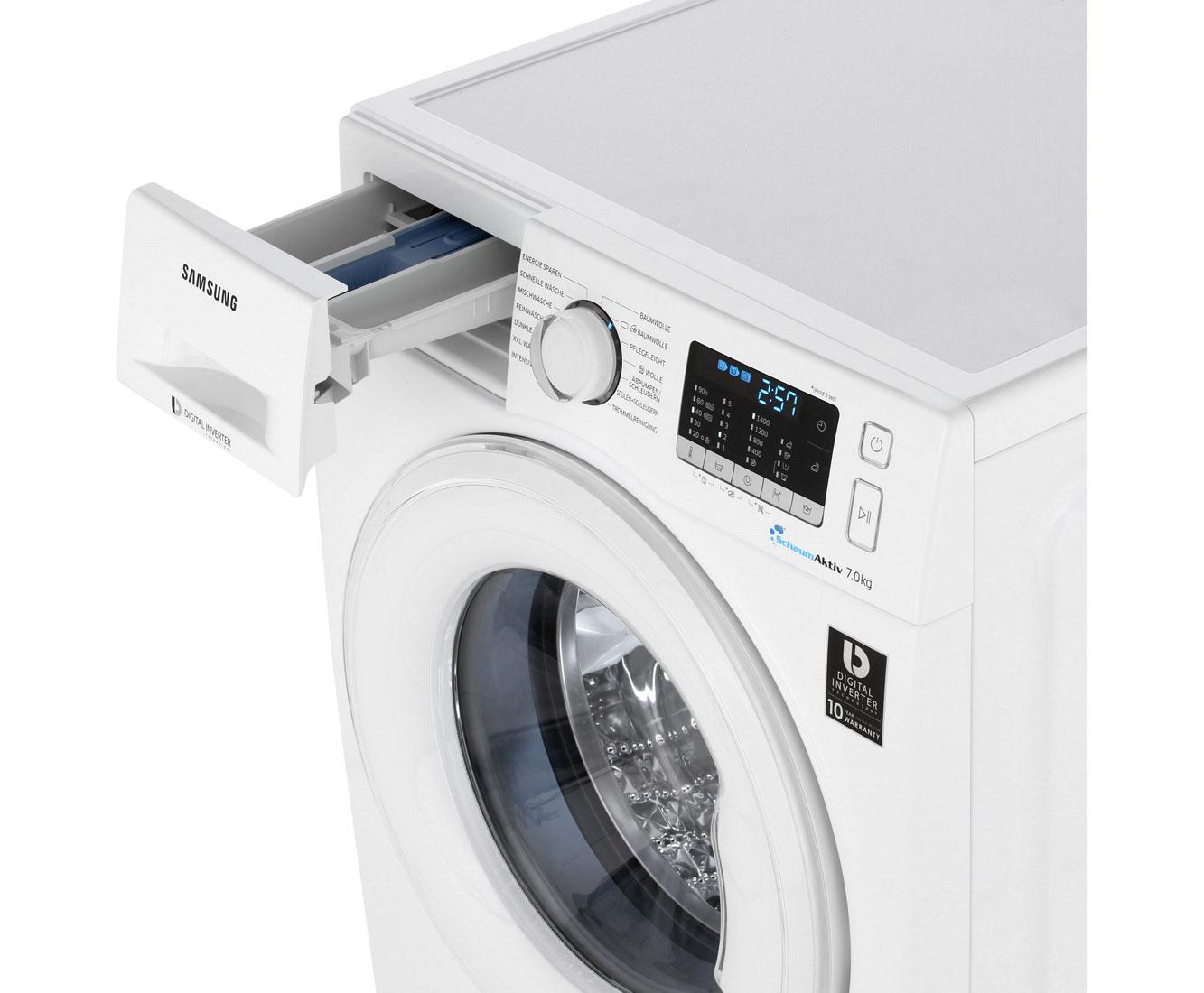 samsung ww70j5435dw eg waschmaschine freistehend wei neu ebay. Black Bedroom Furniture Sets. Home Design Ideas