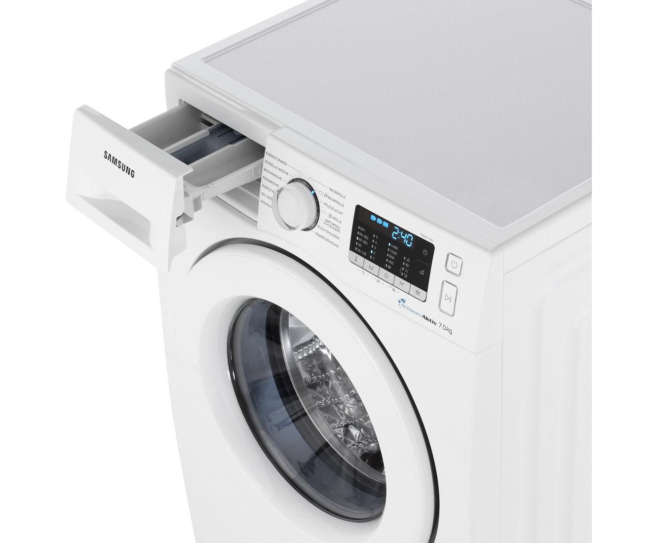 samsung ww70j5585mw eg waschmaschine freistehend wei neu. Black Bedroom Furniture Sets. Home Design Ideas
