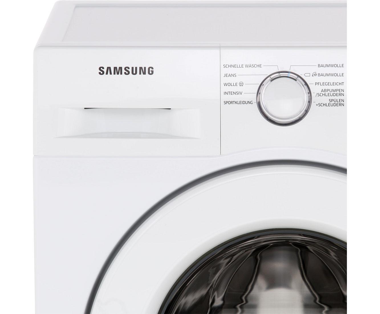 samsung ww80j3473kw eg waschmaschine freistehend wei neu. Black Bedroom Furniture Sets. Home Design Ideas