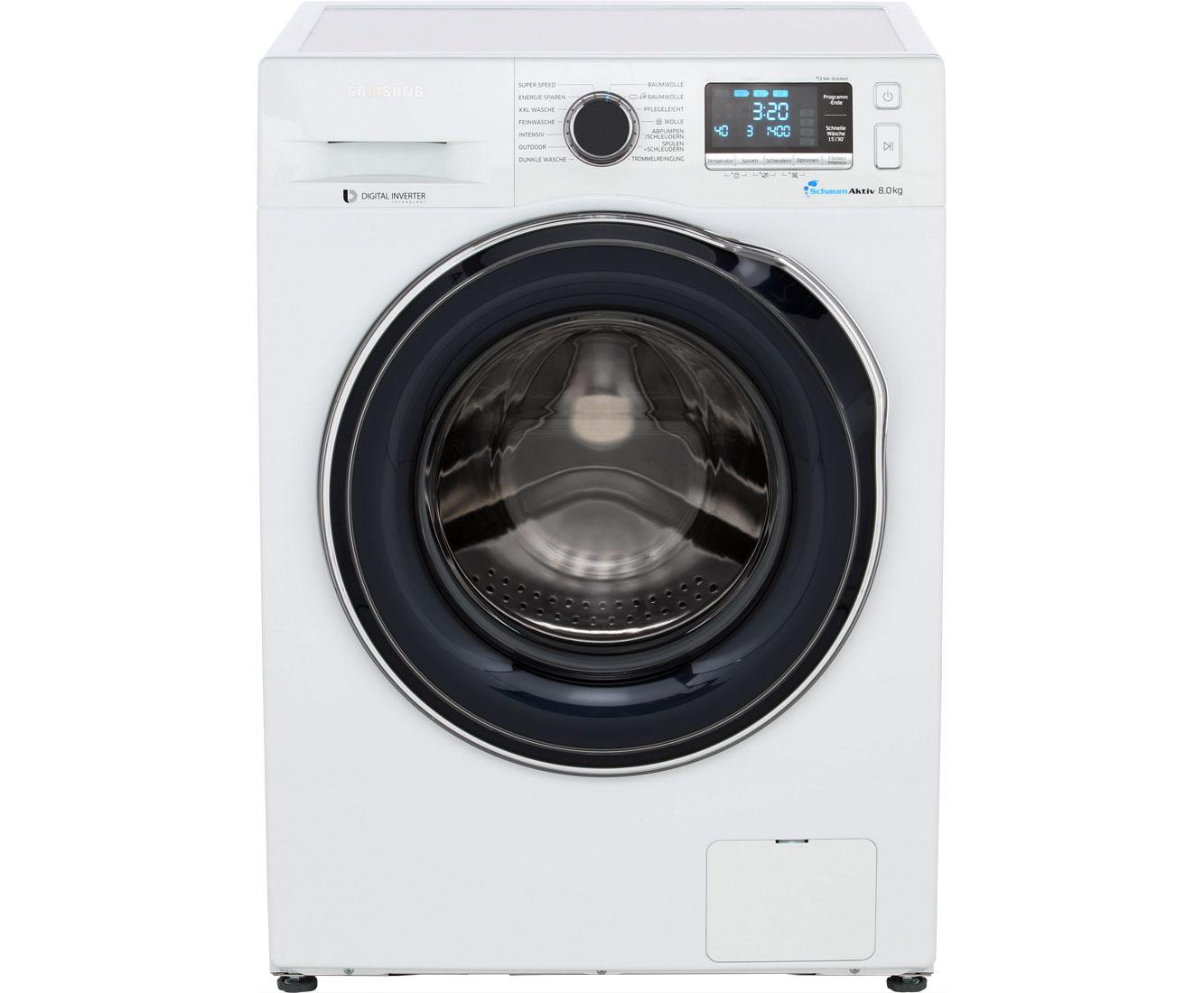 Samsung WW80J6400CWEG Waschmaschine 8 kg, 1400 U/Min, A+++