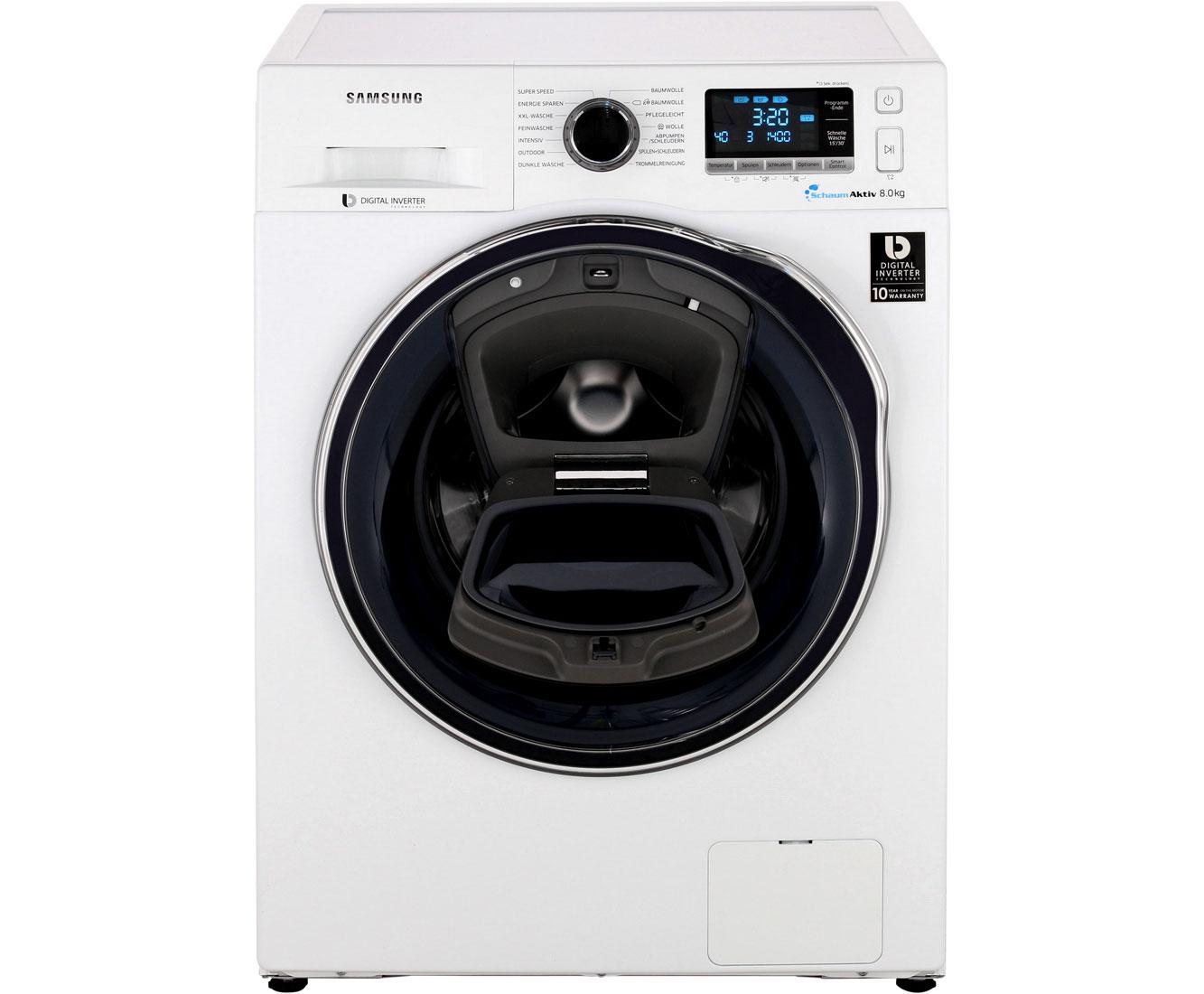 WW80K6404QW/EG Waschmaschinen - Weiss