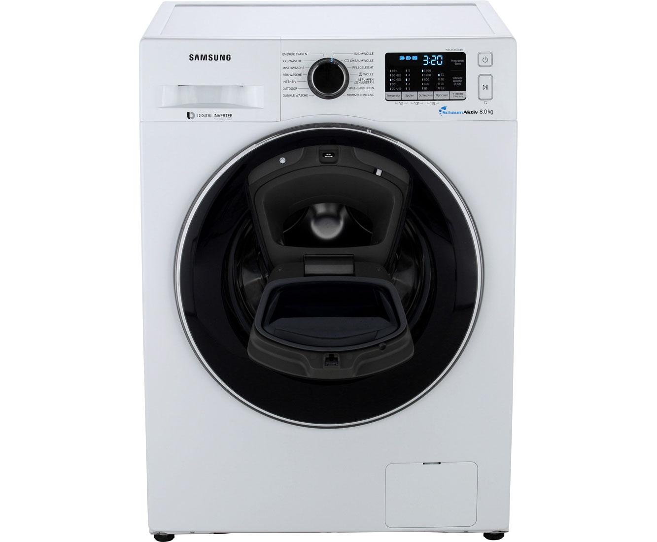 AddWash 5500 WW8EK5400UW/EG Waschmaschinen - Weiß