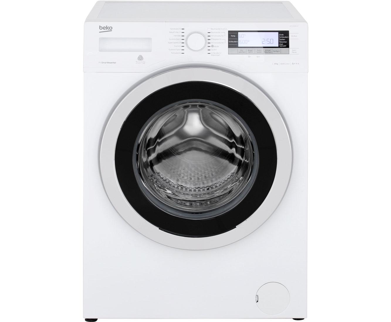 WYA 81643 LE Waschmaschinen - Weiß