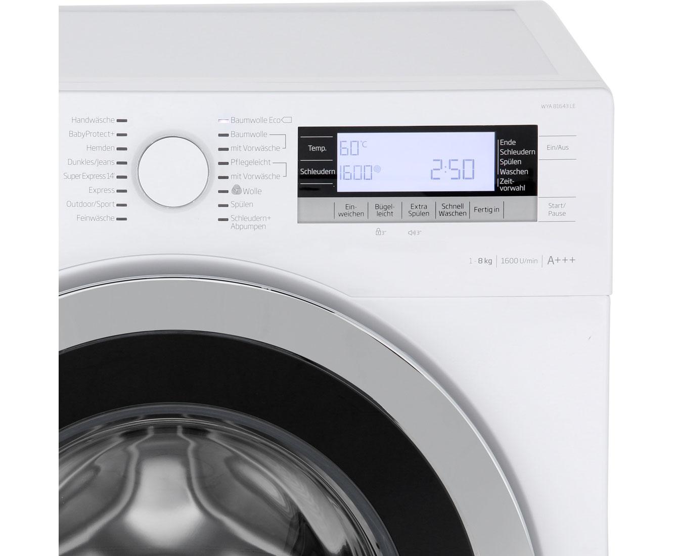 beko waschmaschine 1600