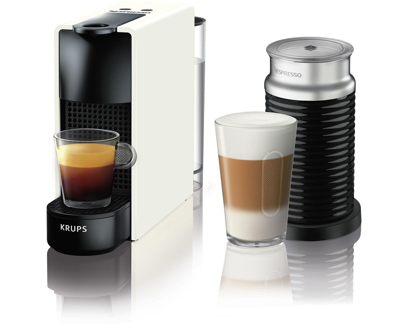 Krups Nespresso Essenza Mini XN1111 Kaffeemaschinen - Weiß | Küche und Esszimmer > Kaffee und Tee > Espressomaschinen | Weiß | Krups Nespresso