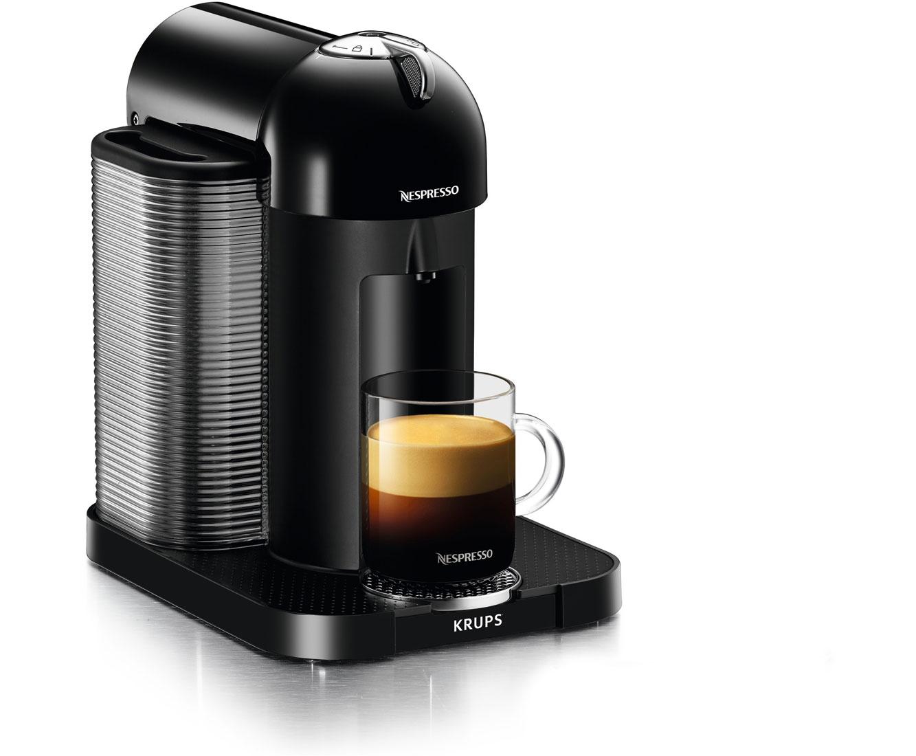 Krups Nespresso Vertuo Plus XN9018 Kaffeemaschinen - Schwarz | Küche und Esszimmer > Kaffee und Tee > Espressomaschinen | Schwarz | Krups Nespresso