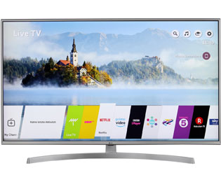 "LG 49UK7550LLA, 4K/UHD, LED, Smart TV, 123 cm [49""] mit HDR10 Pro, DTS Virtual:X und Google Assistant - Silber - 49UK7550LLA_SI - 1"