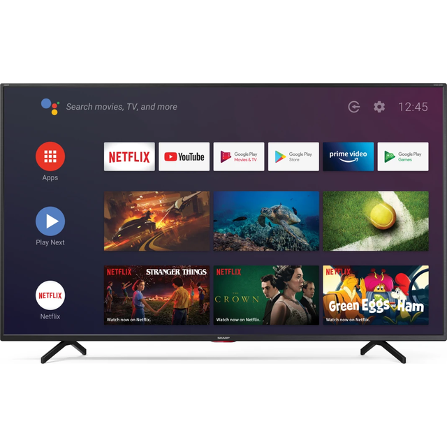 Sharp 65BN5EA, 4K/UHD, LED, Smart TV, 164 cm [65 Zoll] - Schwarz