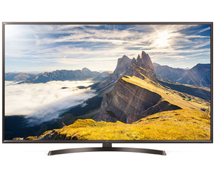 "LG 65UK6400PLF, 4K/UHD-LED-Smart TV, 164 cm [65""] - Schwarz - 65UK6400PLF_BK - 1"
