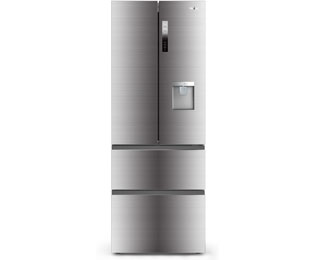 Haier B3FE742CMJW French Door Side-by-Side mit Wasserspender - No Frost - 426 Liter, Edelstahl - A++ - B3FE742CMJW_SS - 1