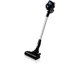 Bosch Serie 6 BBS611PCK Unlimited Akku-Stielsauger mit Cartridge Filter und AllFloor Power Brush, beutellos - Nachtblau
