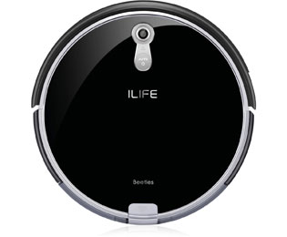 ILIFE Beetles A8 Saugroboter mit Panoview und Anti Tangle - Schwarz - Beetles A8_BK - 1