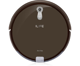 ILIFE Beetles A8 Saugroboter mit Panoview und Anti Tangle - Braun - Beetles A8_BR - 1