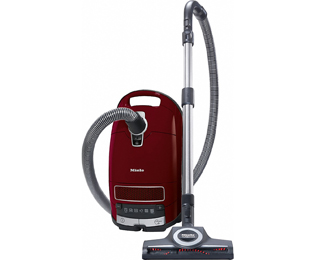 Miele C3 CatandDog PowerLine Bodenstaubsauger mit Active AirClean Filter und Turbobürste - Bordeaux Rot - C3 CatandDog PowerLine_BRD - 1