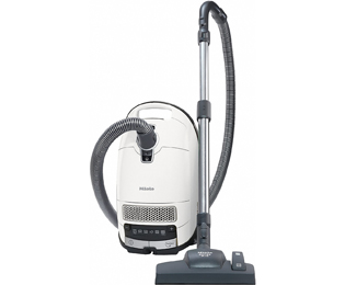 Miele Complete C3 Silence EcoLine Bodenstaubsauger mit Silence AirClean Filter und Silence-System Plus - Weiß - C3 Silence EcoLine_WH - 1