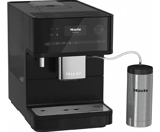 Miele CM 6350 Kaffeevollautomat mit OneTouch for Two und Cappuccinatore - Black Edition