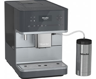 Miele CM6350 Kaffeevollautomat mit Cappuccinatore und OneTouch for Two - Grau - CM6350_GR - 1