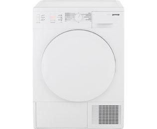 Gorenje D 7465 A++ Wärmepumpentrockner   7 Kg, Weiß, A++
