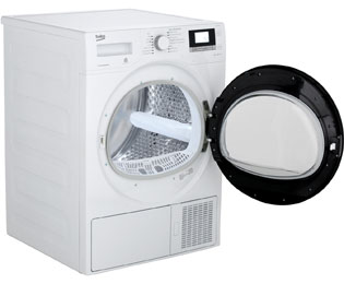 Beko dh8534gx0 wärmepumpentrockner 8 kg weiß a