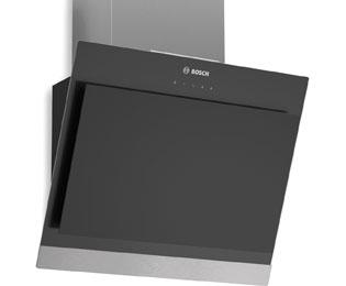 bosch dwk06g660 dunstabzugshaube eingebaut 60cm edelstahl schwarz neu ebay. Black Bedroom Furniture Sets. Home Design Ideas