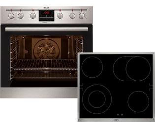 aeg eemx331213 competence elektro herdset eingebaut edelstahl neu ebay. Black Bedroom Furniture Sets. Home Design Ideas