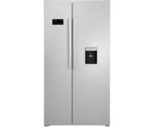 Side By Side Kühlschrank Nachteile : Kundenbewertungen beko gn s side by side silber