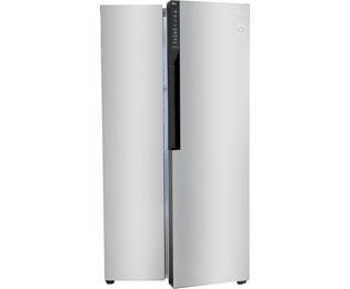 Amerikanischer Kühlschrank Lutz : Lg gsb basz amerikanischer side by side l edelstahl a