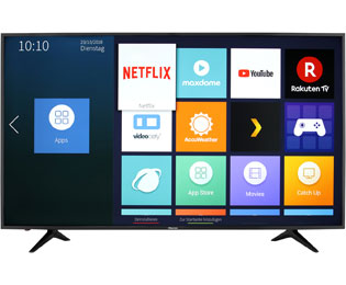 "Hisense H65AE6030, 4K/UHD, LED, Smart TV, 163 cm [65""] - Schwarz - H65AE6030_65 - 1"